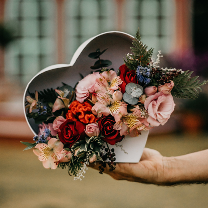 Imagem de Coração de Flores